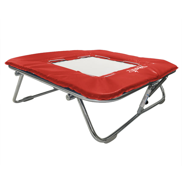 Super Mini Tramp - White Super-mesh Bed - UK Gym Pits