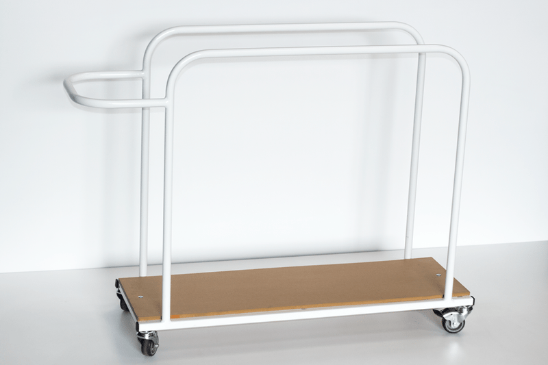 Vertical Mat Trolley - Small or Large - UK Gym Pits