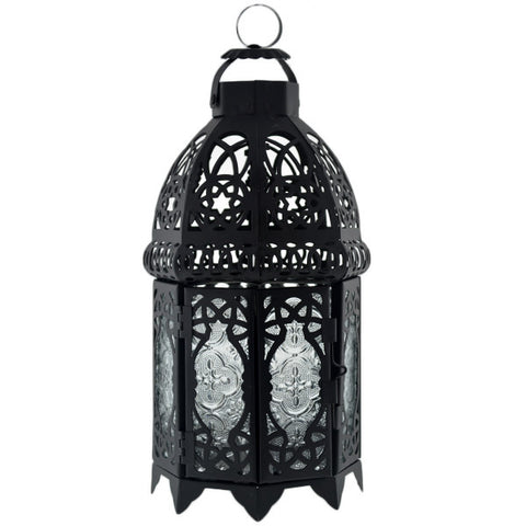 Large Black Moroccan Lantern Rental