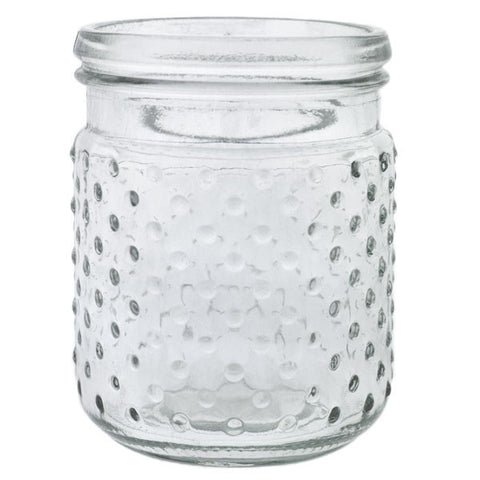 "Glass Hobnail Vase 5.75"" Rental"