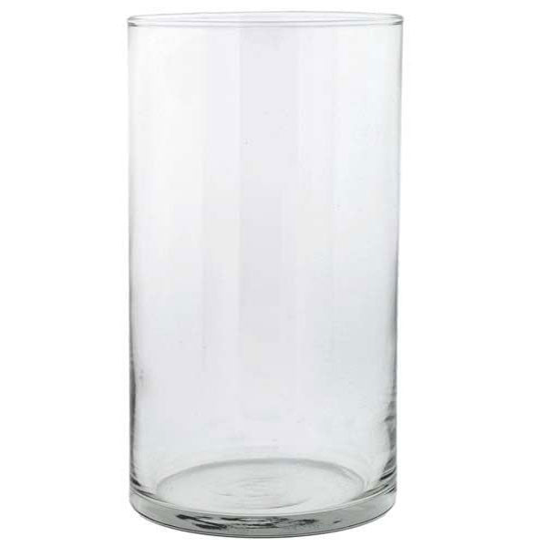 "Glass Cylinder Vase 6"" Rental"