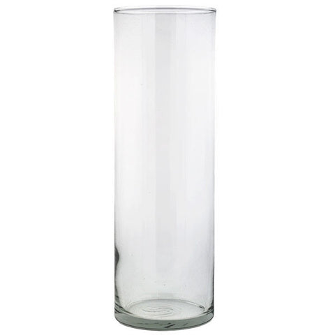 "Glass Cylinder Vase 9"" Rental"