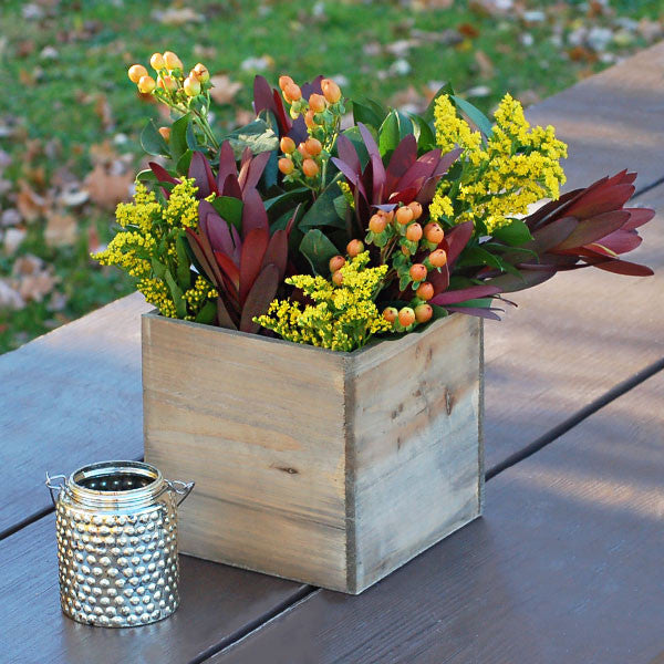 Large Wooden Planter Box