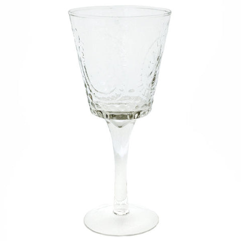 Pressed Glass Lela Stemware