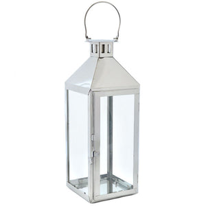 Large Classic Silver Lantern