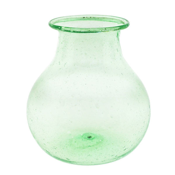 Recycled Green Glass Bud Vase Rental