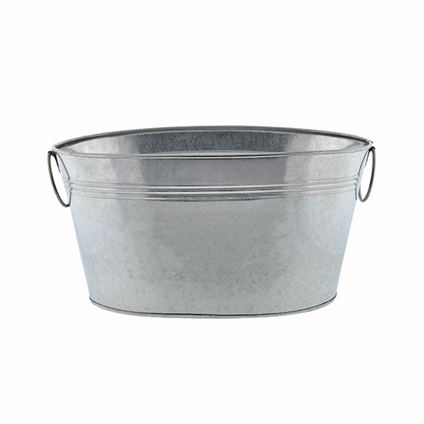 Oval Shaped Galvanized Tub