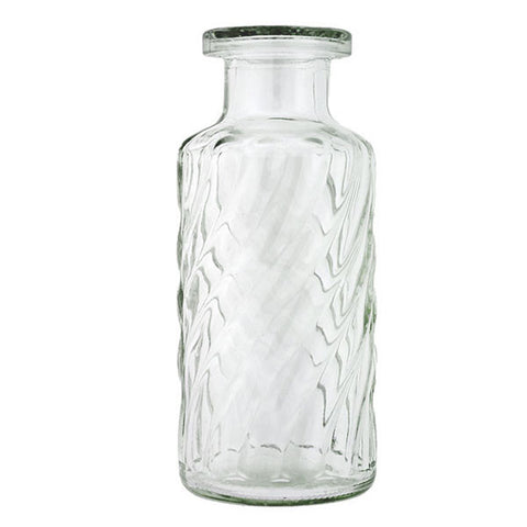 Vintage Swirled Glass Bottle Rental