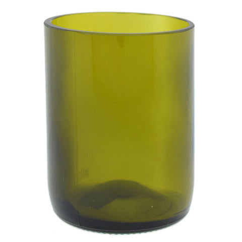 Recycled Green Glass Vase Rental