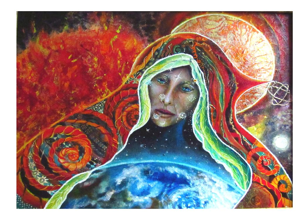 greeting card #48 - Gaia #47 - S/He Who Brings the Sun