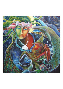 greeting card #9 - Gaia #46: S/He Who Hears the Whales Cry
