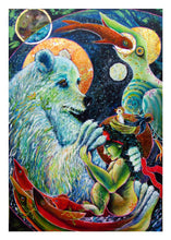 Load image into Gallery viewer, greeting card #13 - Gaia #72: Benediction: We Who Are All Bless-ed