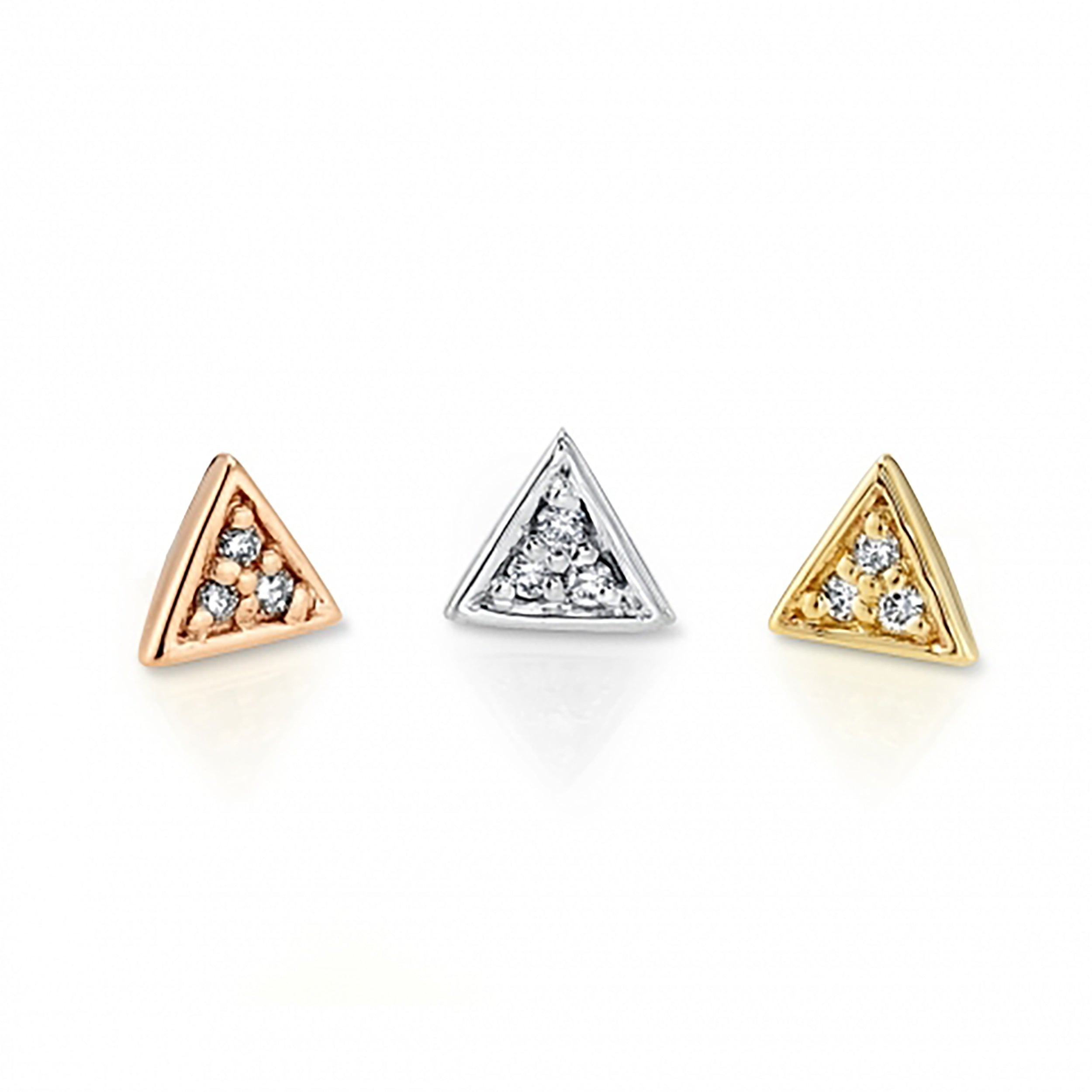 Micro Pave Triangle (PP BVLA)