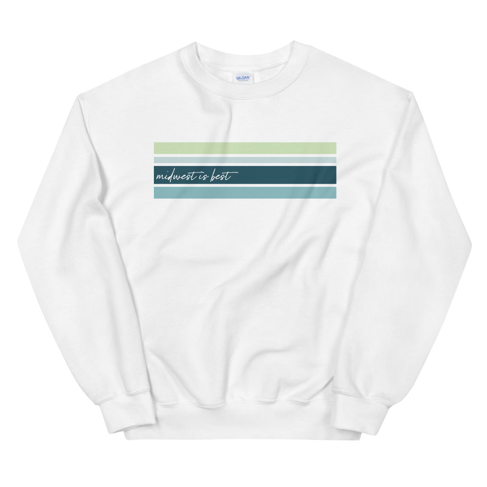Midwest Is Best Crewneck Sweatshirt