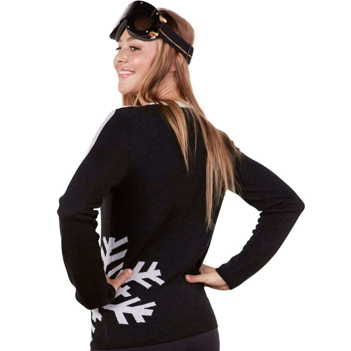 Snowflake Ski Sweater
