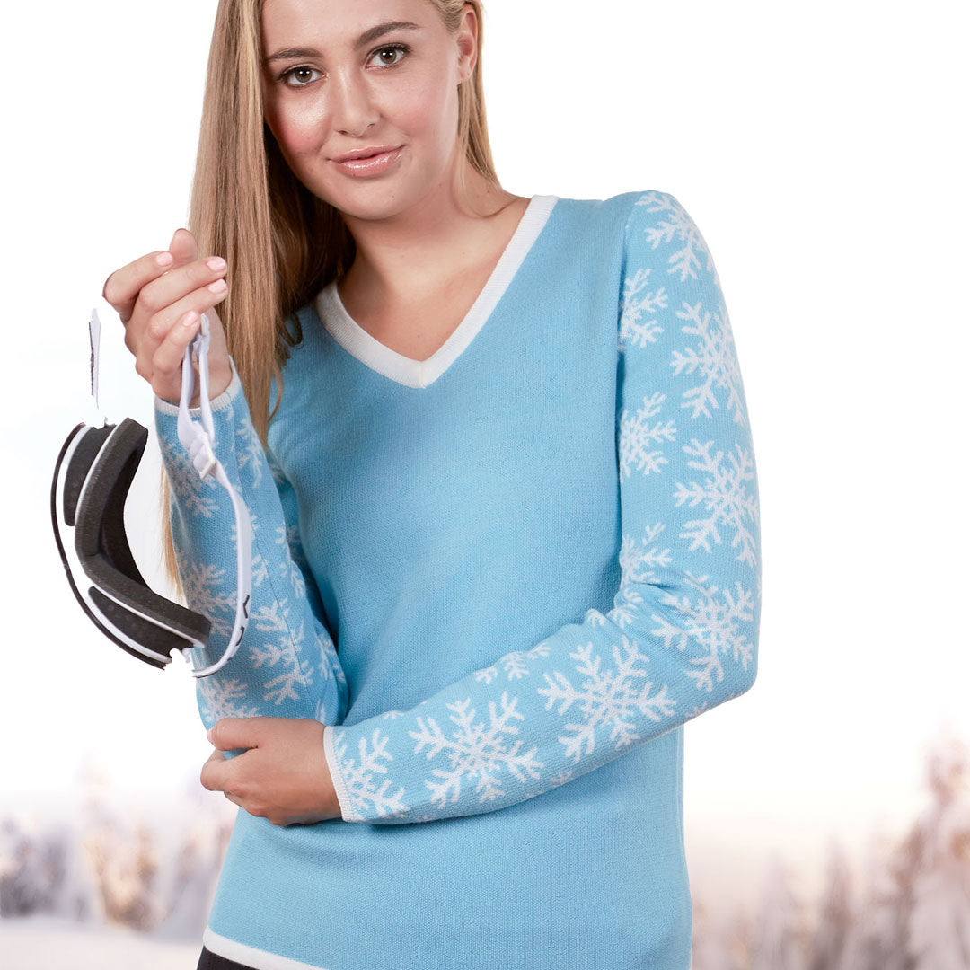 The Arlberg Powder Blue Women's Sweater