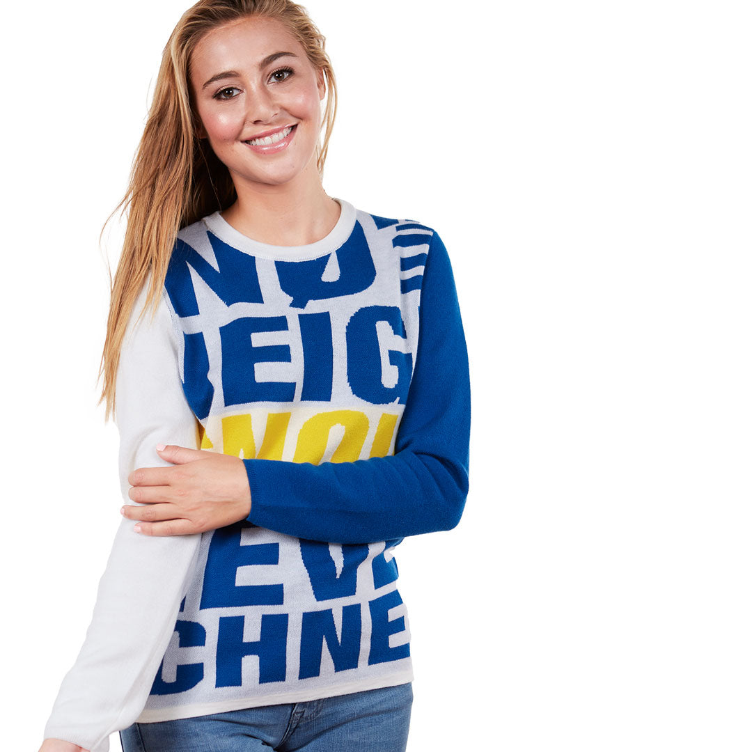 Neve Neige Schnee Snow Ski Sweater