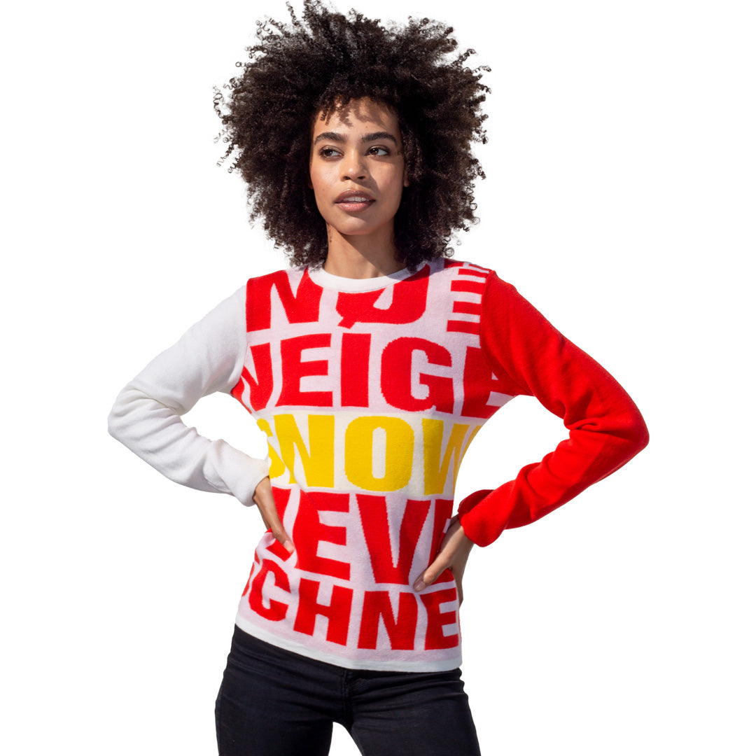 Fun Women's Winter Fashion Sweater