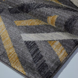 Ladole Rugs Lynn Valley Grey Gold Mat