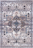 Lyon Traditional Beige Cream Area Rug