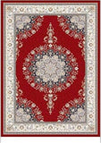 Elson Flatweave Red Area Rug