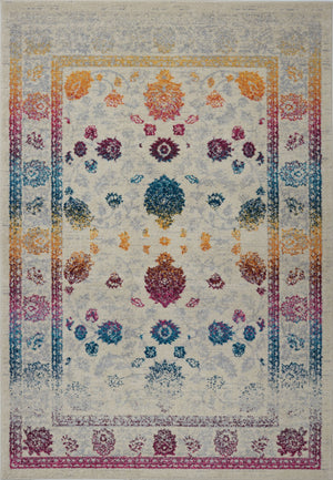 Centrepoint Cream Multicolor Area Rug -