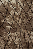 Centre Parkway Dark Beige Brown Area Rug -