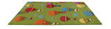 Parachute Green Kids Area Rug