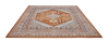 Mashad Persian Terra Orange Area Rug