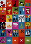 Learning Alphabets Area Rug