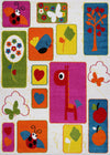 Multi Color Kids Area Rug