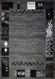 Nanaimo Dark Grey Area Rug -