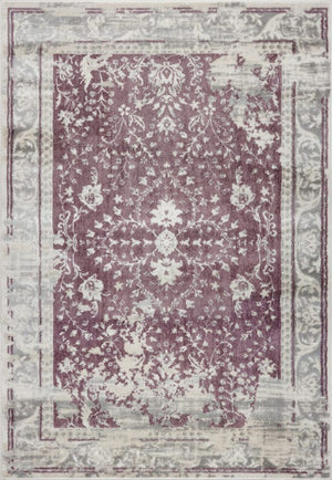 Garnet Champagne Rose Cream Area Rug -