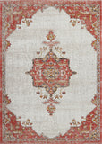 Highland Terracotta Cream Indoor/Outdoor Area Rug