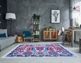 Blue Persian Style Area rug