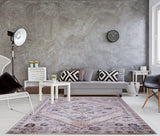Ladole Rugs Everest Collection Chania Traditional European Durable Soft Beige and Cream Mat