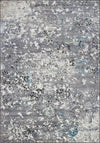 Copacabana Contemporary Grey Area Rug