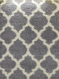 "Ladole Rugs Light Grey Ivory Shaggy Area Rug Carpet 7'10""x10'5"" (Approx. 8 by 11 Feet) for Living Room Bedroom"