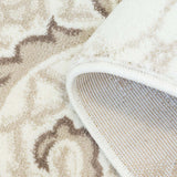 Lily Pink Ivory Floral Area Rug -