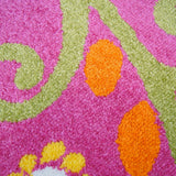 Kids Owl Pink Area Rug -