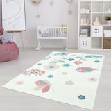 Paradise Kids Flower Area Rug -