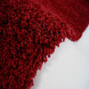 Shaggy Red Area Rug -