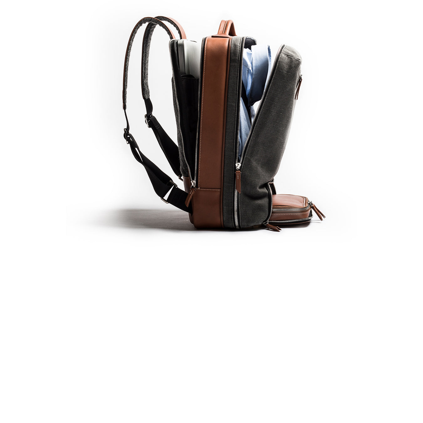 lundi 36-hour leather backpack