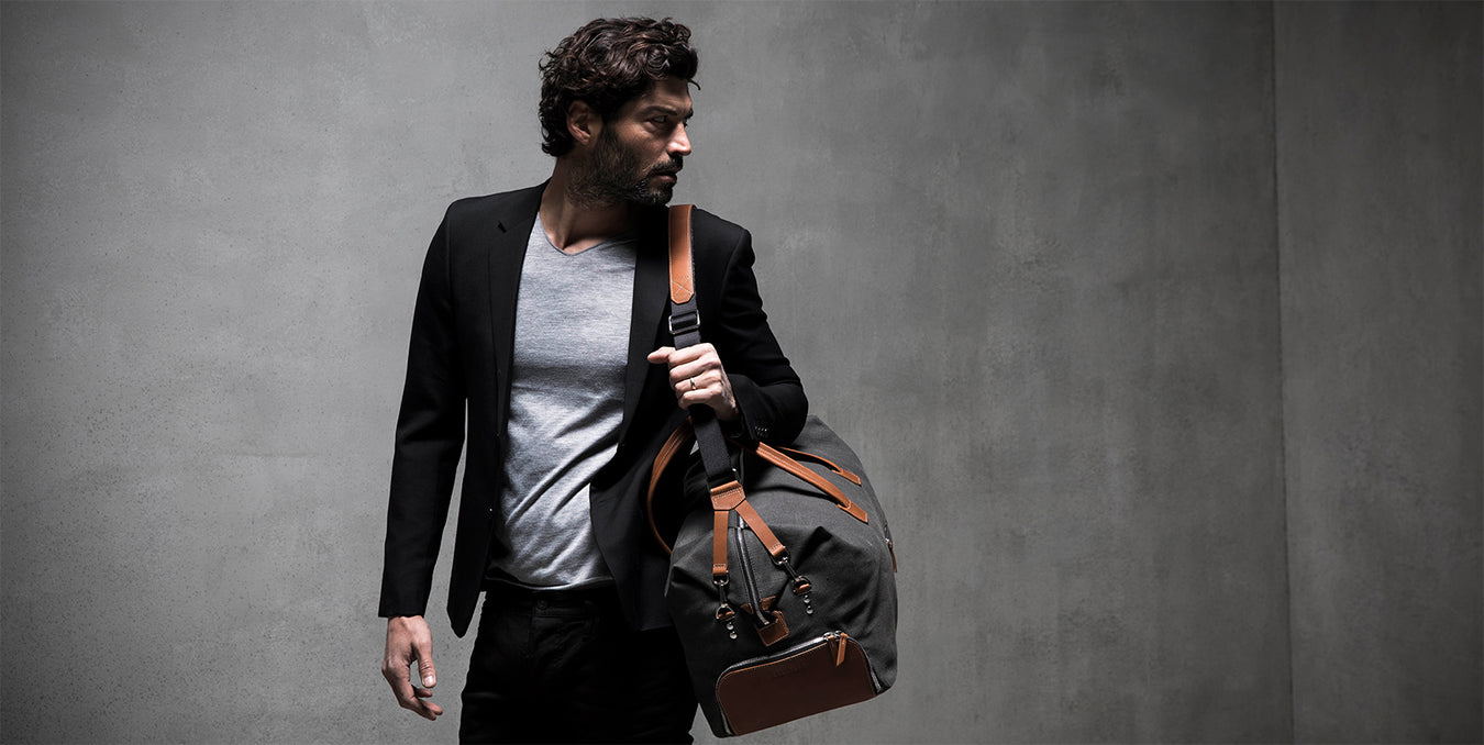 lundi leather travel bag