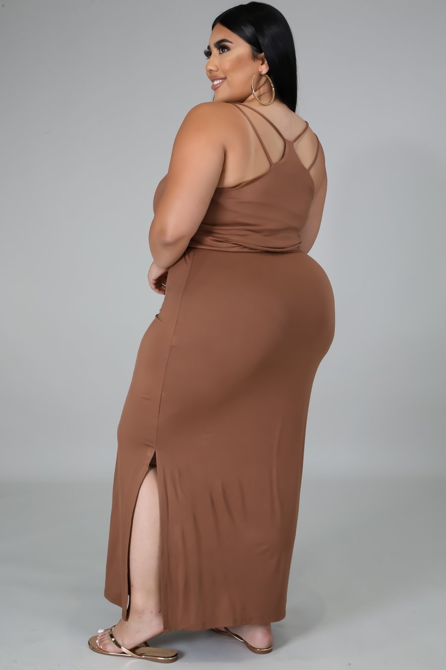 Jersey Lounging Plus Size Dress