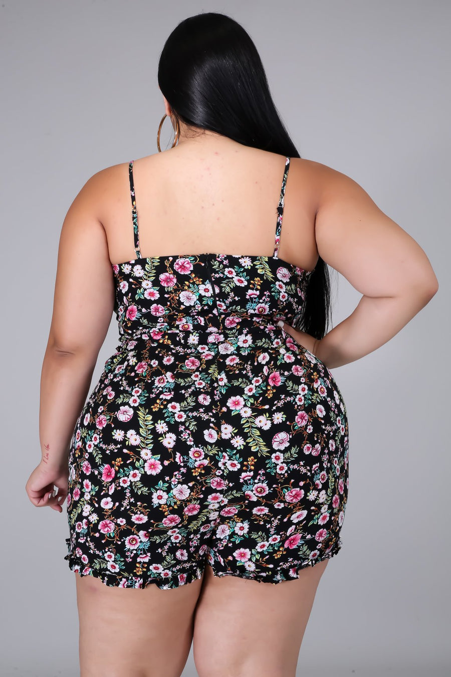 Sugar And Spice Plus Size Romper