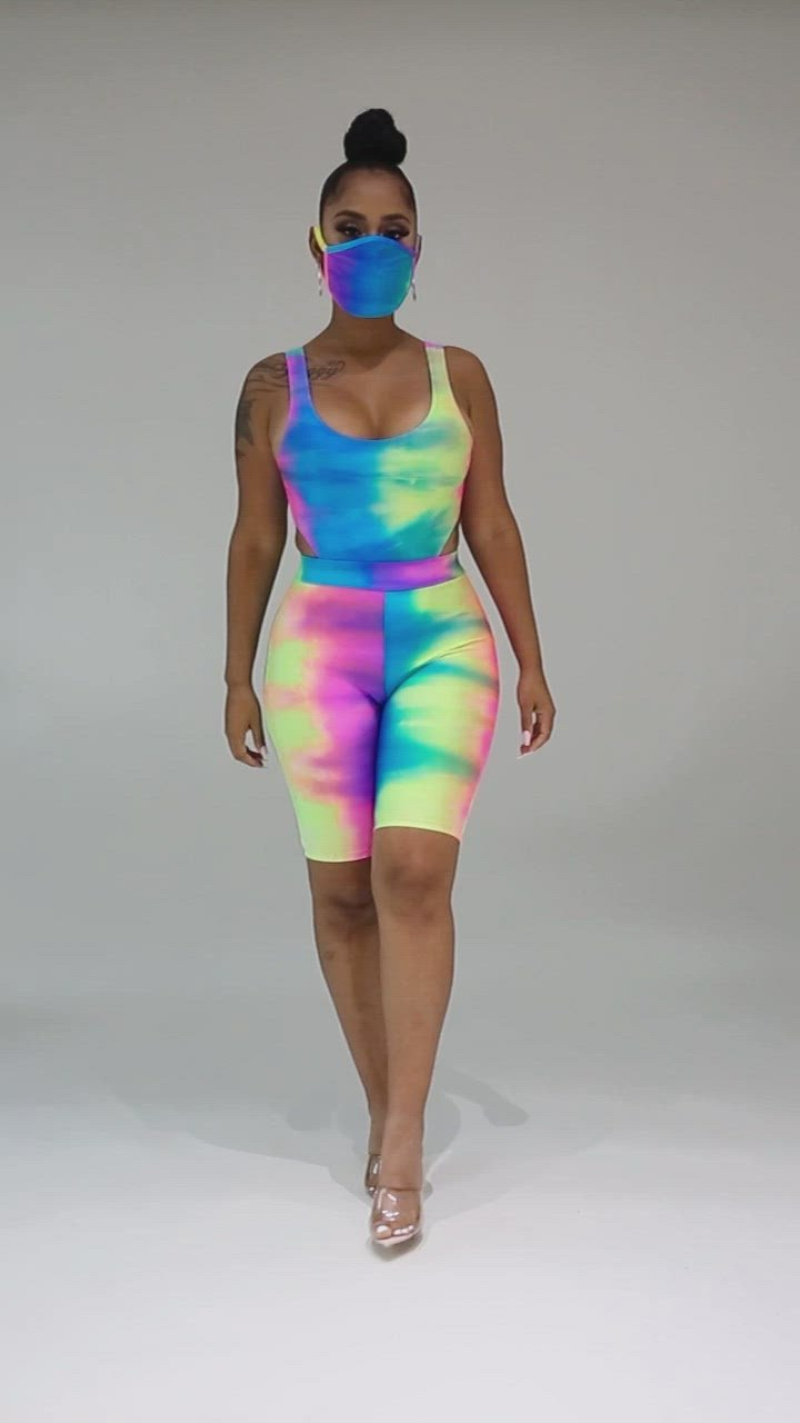 In Living Color Short Set