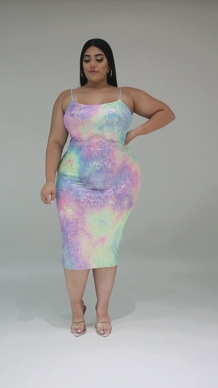 My Galaxy Plus Size Dress