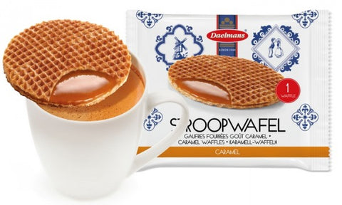 Daelmans Jumbo Caramel Stroopwafels (single packs)