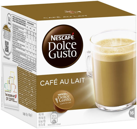 NESCAFÉ® Dolce Gusto® Café au Lait -   Number of servings 16